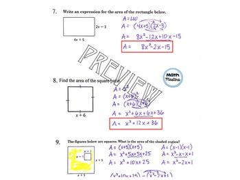 Multiply Binomials