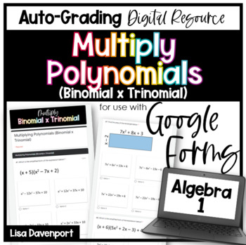 Multiply Binomial By Trinomial Worksheets Teaching