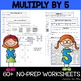 Multiply By 3, 4, & 5 {MINI BUNDLE!!}