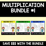 Multiplication Bundle #1 (3's, 4's, and 5's)