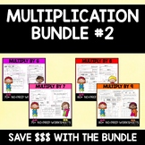 Multiplication Bundle #2 (6's, 7's, 8's and 9's)