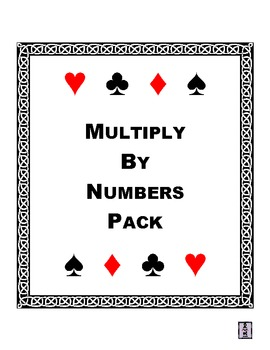 Multiply By Numbers Pack