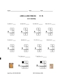 Multiply By One Digit Worksheet Collection