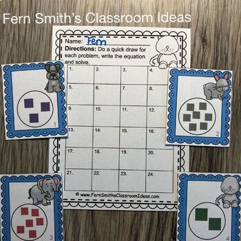 3rd Grade Go Math Chapter Three 3.7 Multiply With One Task Cards