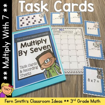 Multiply By Seven Task Cards