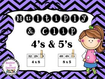 Multiply & Clip 4's & 5's
