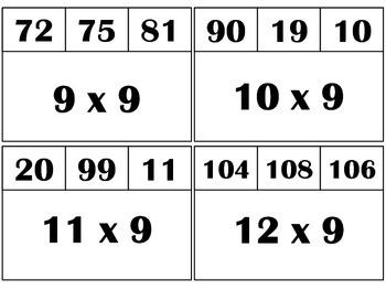 Multiply & Clip 8's & 9's