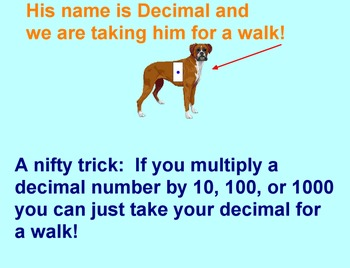 Multiply Decimal Engaging flipchart