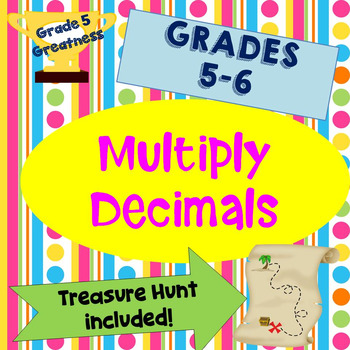 Multiply Decimals Math Games