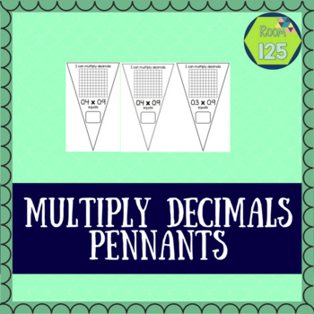 Multiply Decimals Banners