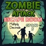 Multiply Decimals Digital Escape Room Grade 5 Skills -- Di