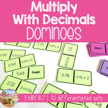 Multiply Decimals Dominoes