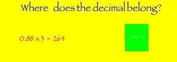 Multiply Decimals flipchart