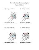 Multiply Decimals with the Lattice Method