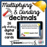 Multiply Divide DECIMALS Boom Cards