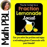Multiply Divide FRACTIONS {Problem Based Learning Activity} *Lemonade Social*