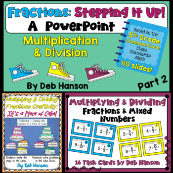 Fractions Bundle for 5th Grade: Multiplying and Dividing Fractions