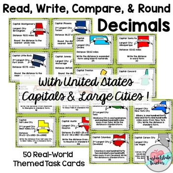 Read Write Compare and Rounding Decimals and Different Number Forms