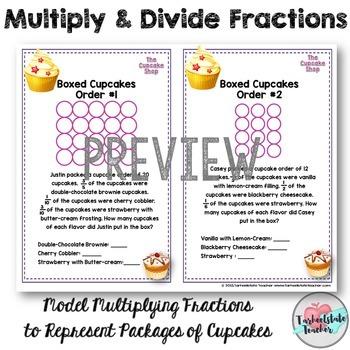 Multiply Divide Fractions Task Cards