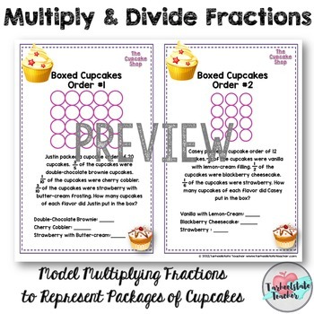 Multiply Divide Fractions Task Cards