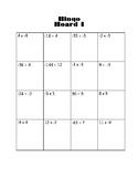 Multiply/ Divide Integer BINGO