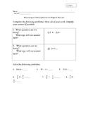 Multiply & Divide Positive and Negative Decimals
