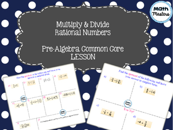 Multiply & Divide Rational Numbers