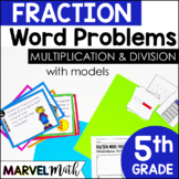 Multiply & Divide Whole Numbers and Unit Fractions with Models and Number Lines