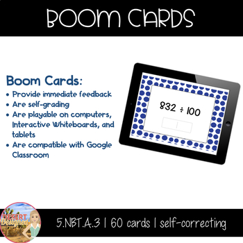 Multiply & Divide by Powers of Ten Boom Cards