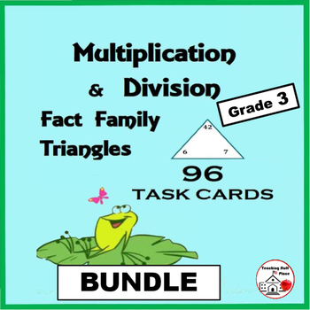 Fact Family Triangles Multiplication Teaching Resources | Teachers ...