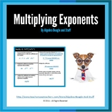Multiplying Exponents by using Exponent Rules and Decomposition