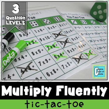 Multiply Fluently Tic-Tac-Toe Game