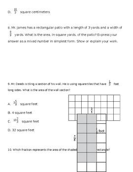 Multiply Fraction Quiz (5NFB4)