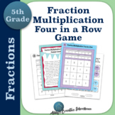 Multiplying Fractions Game Differentiated Partner Game