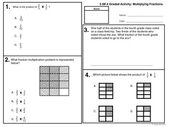 Multiply Fractions 5.NF.4