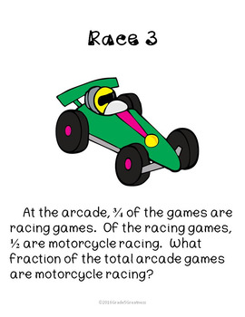 Fun Classroom Race to Multiply Fractions