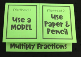 Multiply Fractions (Foldable)