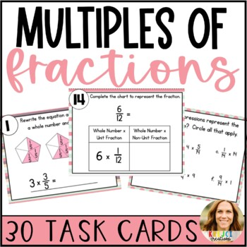 Multiply Fractions- Fractions as the Product of a Whole Number and Fraction