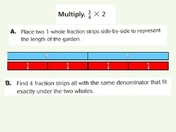 Multiply Fractions and Whole Numbers Using Models for Visual Learners