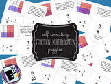 Multiply Fractions by Fractions - puzzles