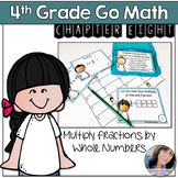 4th Grade Go Math Chapter 8 Multiply Fractions by Whole Numbers Activity