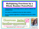 Multiply Fractions by a Whole Number