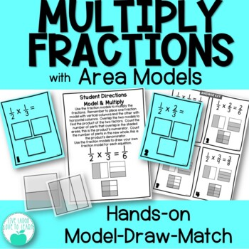 Multiply Fractions with Area Models