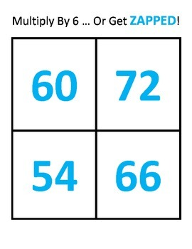 Multiply It or Get Zapped