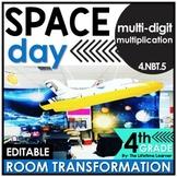4th Grade Multiplication | Space Room Transformation