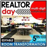 5th Grade Multiplication | Realtor Room Transformation