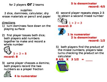 Multiply Mixed Numbers game