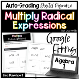 Multiply Radical Expressions- for use with Google Forms