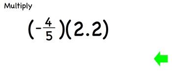 Multiply Real Numbers - Algebra