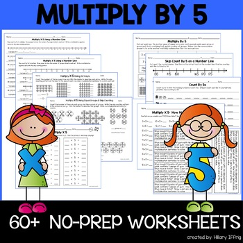 Multiply & Skip Count By 5